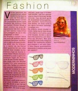 Giovana Quaglio, Coluna Jornal, O Popular, Mogi-Mirim, Blogueira-de-Moda, Shutter-Shade, Óculos