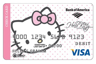 hello kitty, cartao de credit, visa,