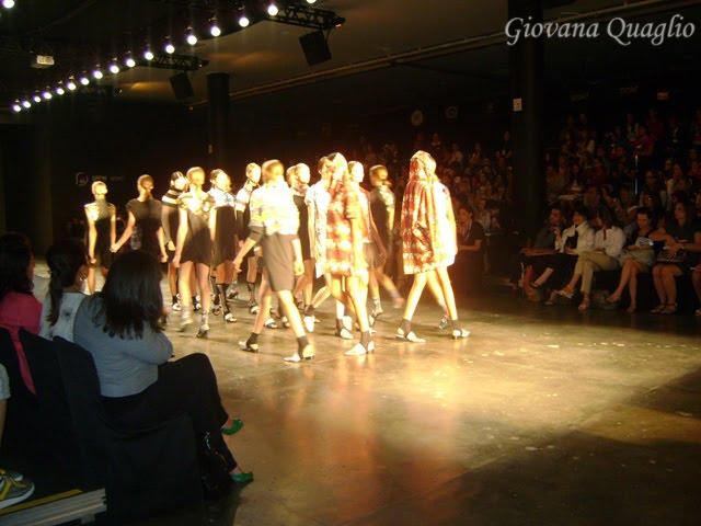 faculdade de moda, campinas, desfile