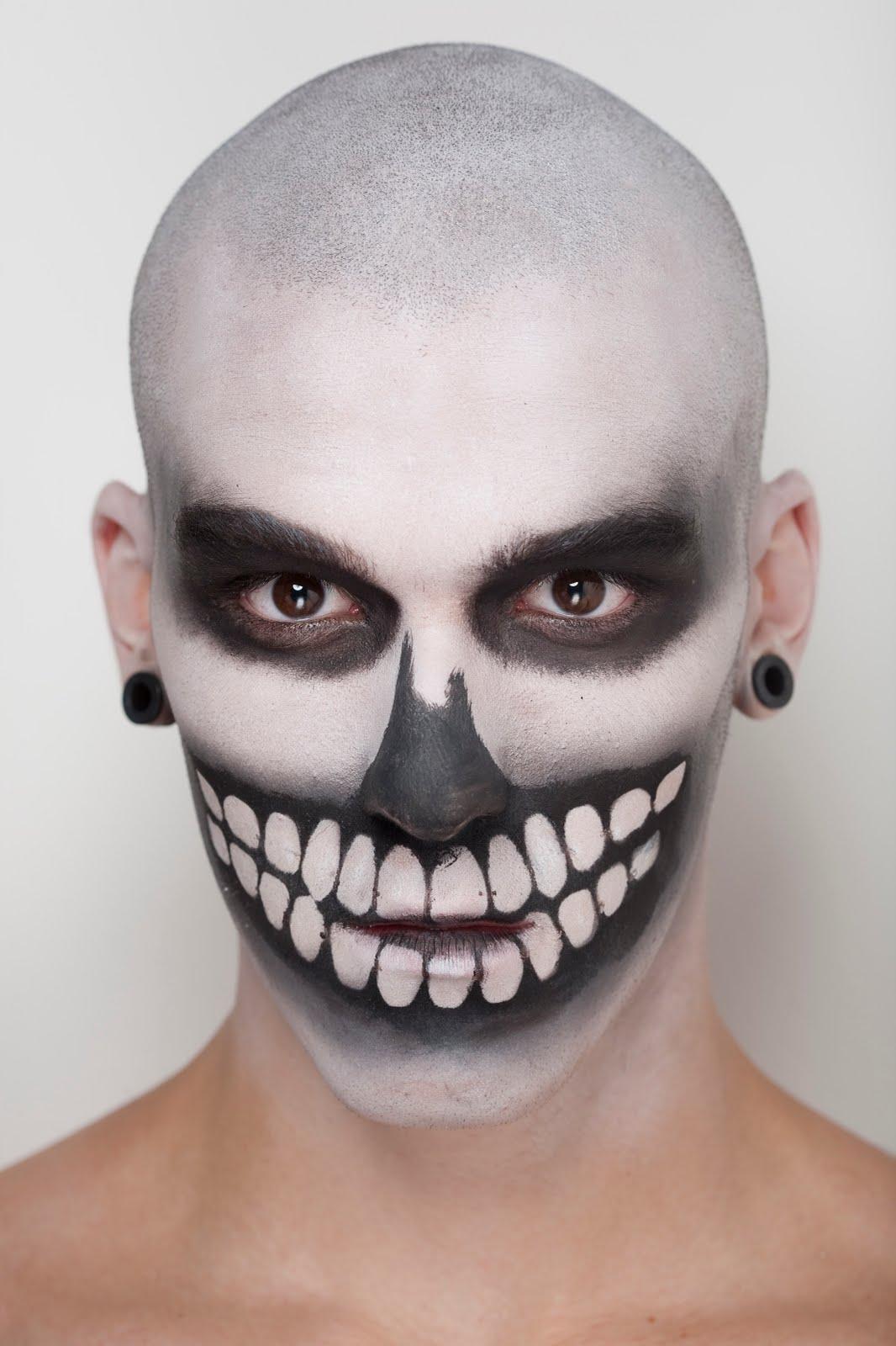 maquiagem de caveira, masculina, homens, Alexandre Herchcovitch, spfw, sao paulo fashion week