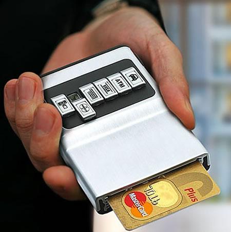 cartao de credito, porta, holder, carteira
