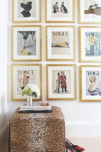 quadros, vogue, decoração, moda