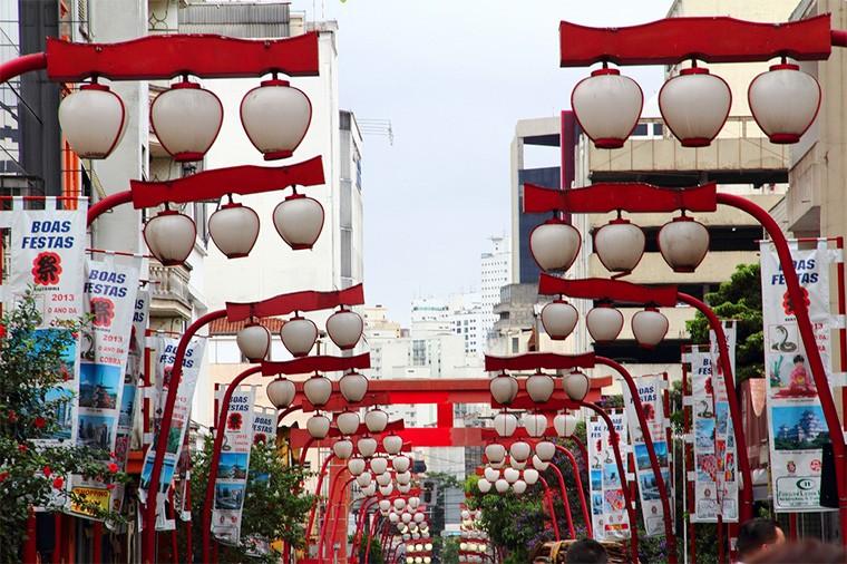 bairro, liberdade, são paulo, japão, japoneses, rua principal