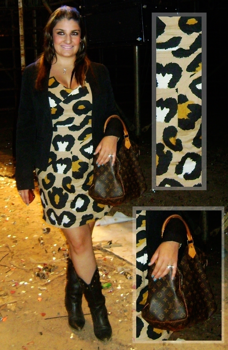 look do dia, giovana quaglio, oncinha, louis vuitton