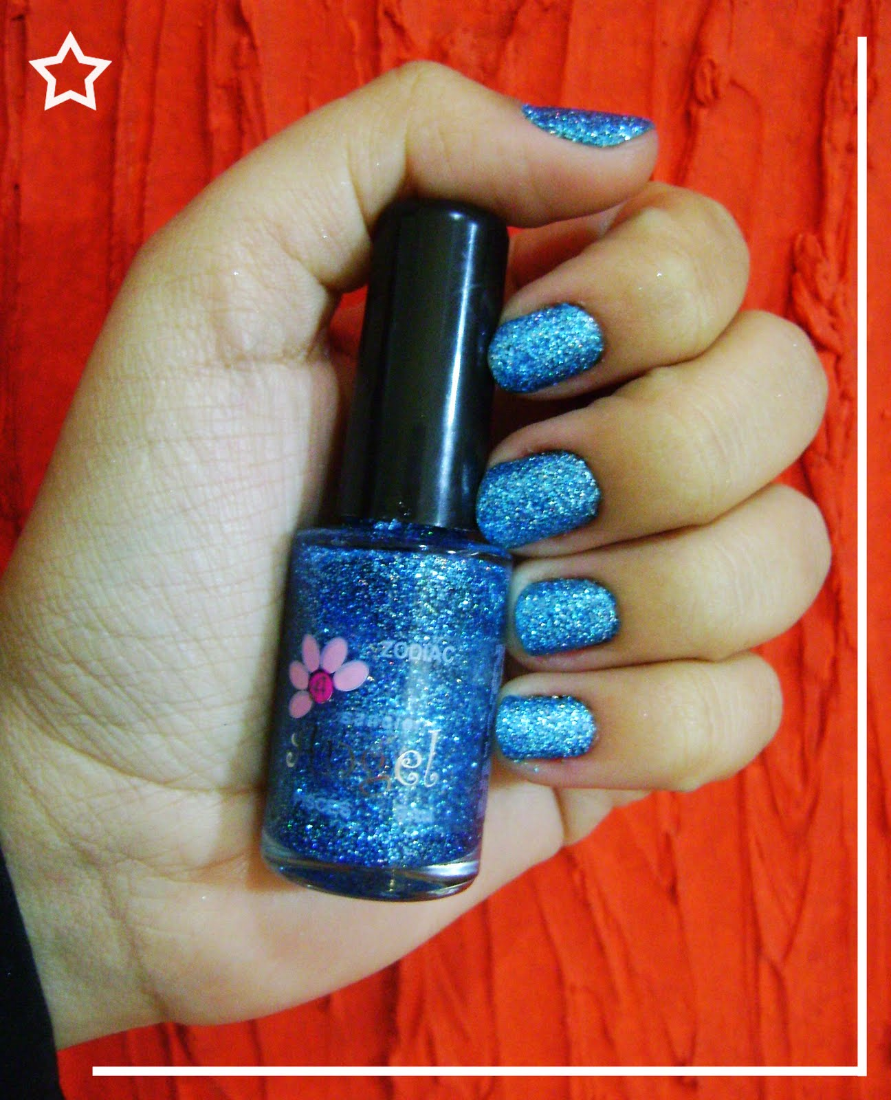 esmalte, sancion angel, glitter
