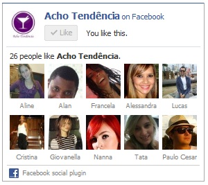 Acho tendencia, facebook, giovana quaglio