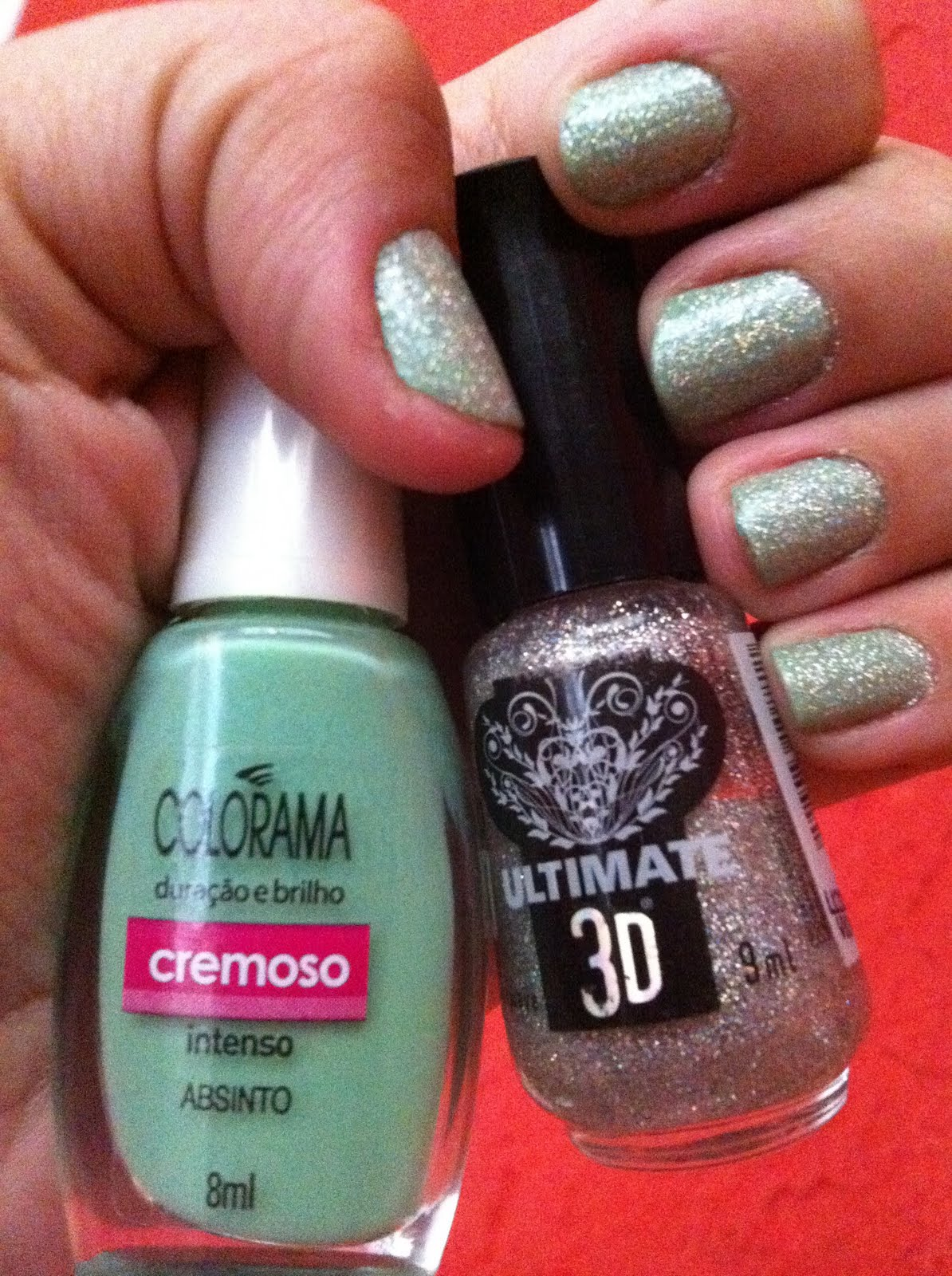 esmalte, absinto, colorama, shockwave, 3d