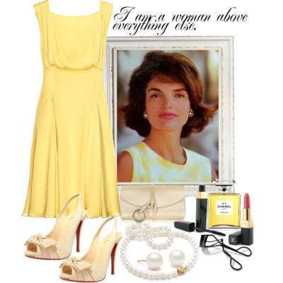 Jackie o, estilo, moda, icone
