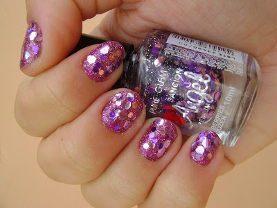 esmalte, sancion angel, pure glam