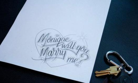 pedido de casamento, noivado, tatuagem, criativo