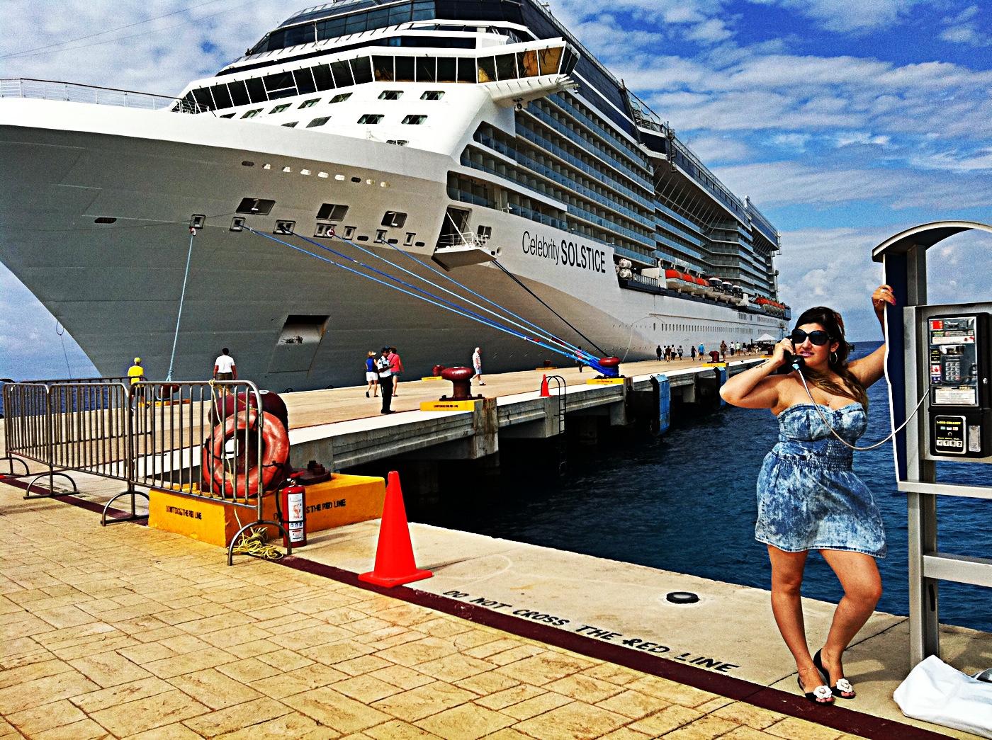 giovana quaglio, celebrity solstice, mexico, cozumel, celebrity cruises