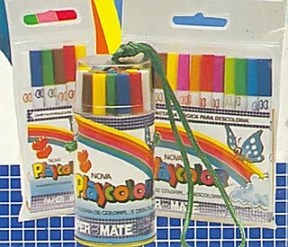 canetinha, playcolor, paper mate, sylvapen