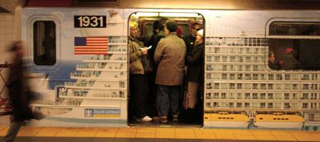 royal caribbean, publicidade, metre, subway,