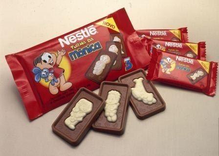 turma da monica, chocolate