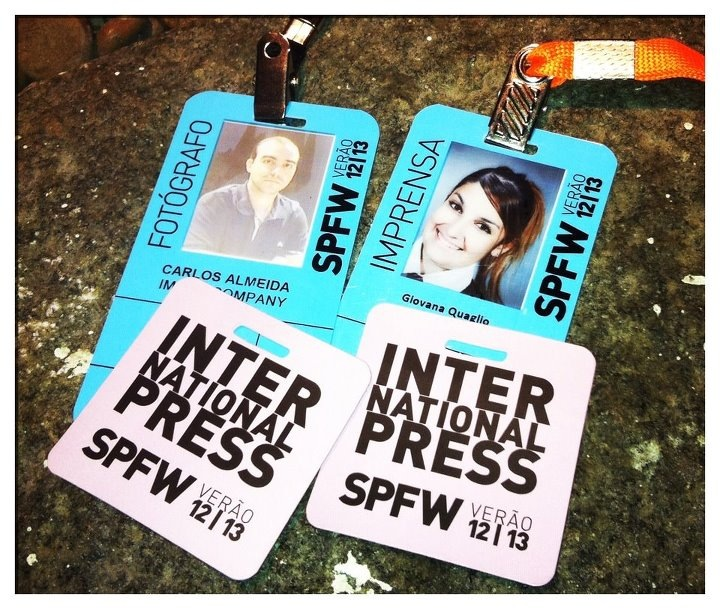 credencial, spfw, sao paulo, fashion week, imprensa