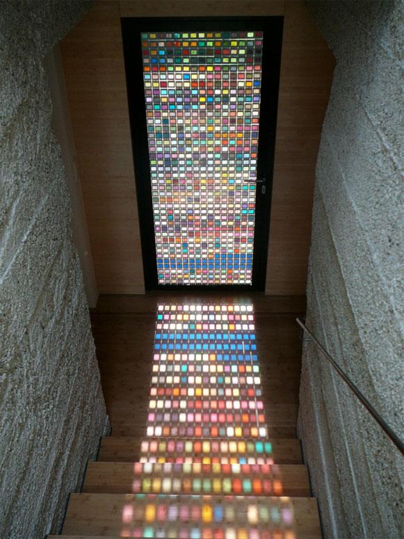 porta, pantone, colorida, design, decoração,