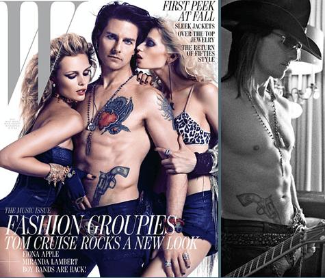 rock of ages, tom cruise, rock star, tatuagens