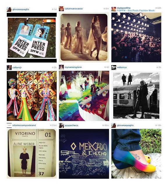 spfw, instagram, fotos, modelos, desfiles, blogueiras