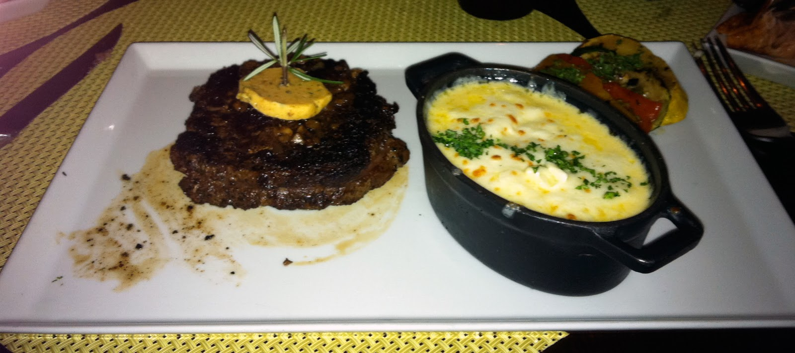 mac and cheese, receita, tuscan grille, celebrity cruises,