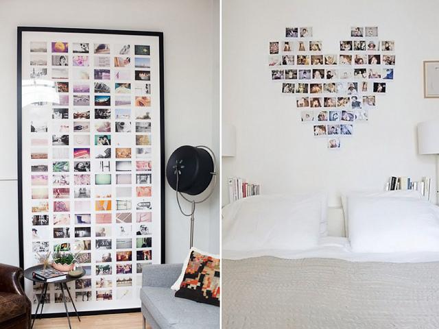 mural de fotos, ideias, como fazer, diy, criativos, inspiracao