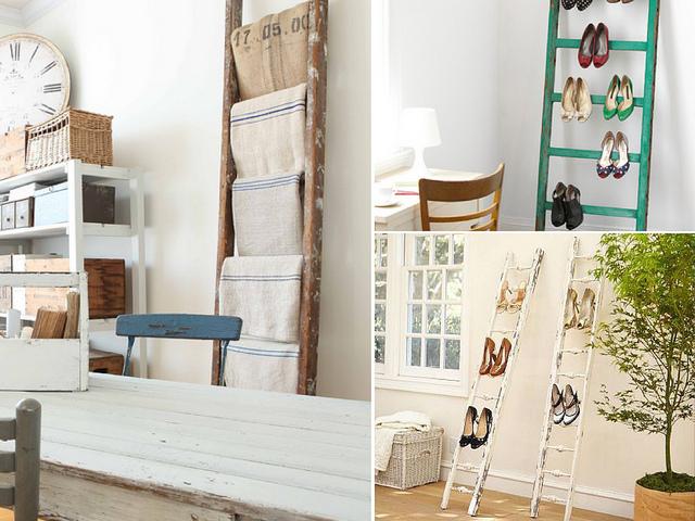 decoração, escadas, criativo, estante, ideias, diy, como fazer