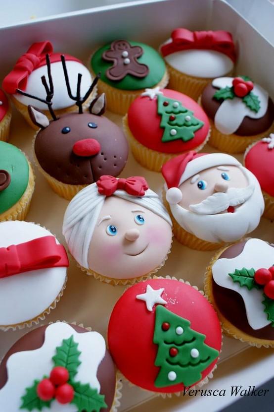 doces, natal, fofos, criativos, ideias