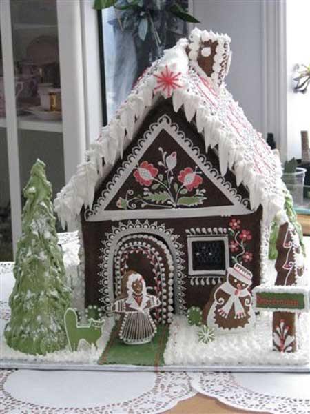 doces de natal, ginger bread house, casa de gengibre, doces, natal, ideias, criativos