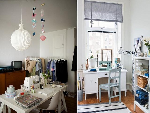 atelie de costura, ideias, decoracao, cantinho de costura