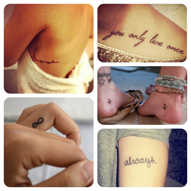 tattoos, fofas, ideias, delicadas, criativas, pequenas, femininas