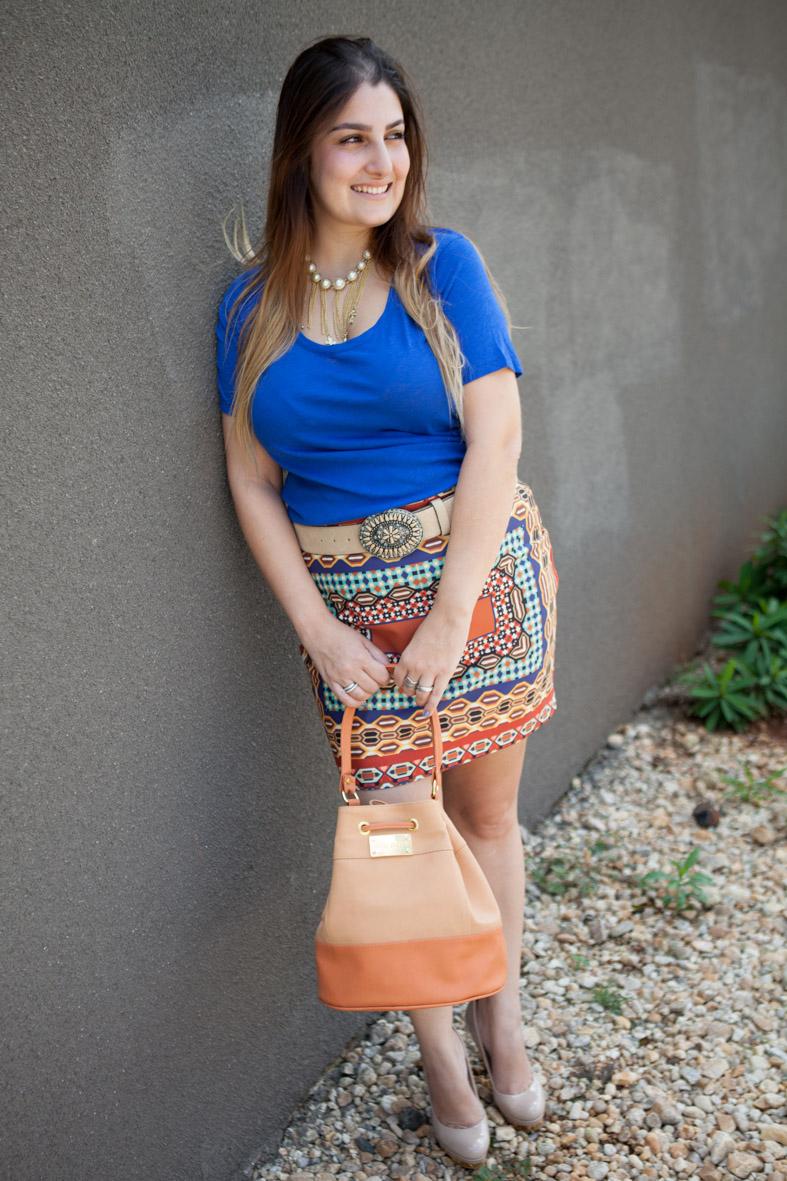 Look do dia, giovana quaglio, Estampa Étnica, Moda, Inspiração, blogueira de moda