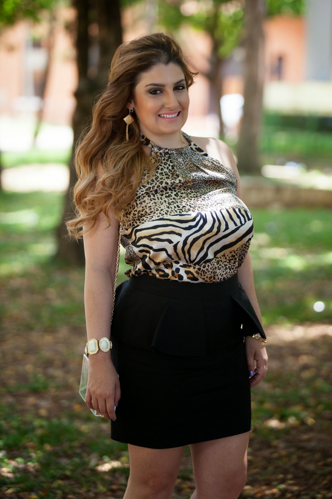 Look, giovana quaglio, oncinha, tigre, zara, forever 21, mogi mirim, campinas, blog de moda, blogueira