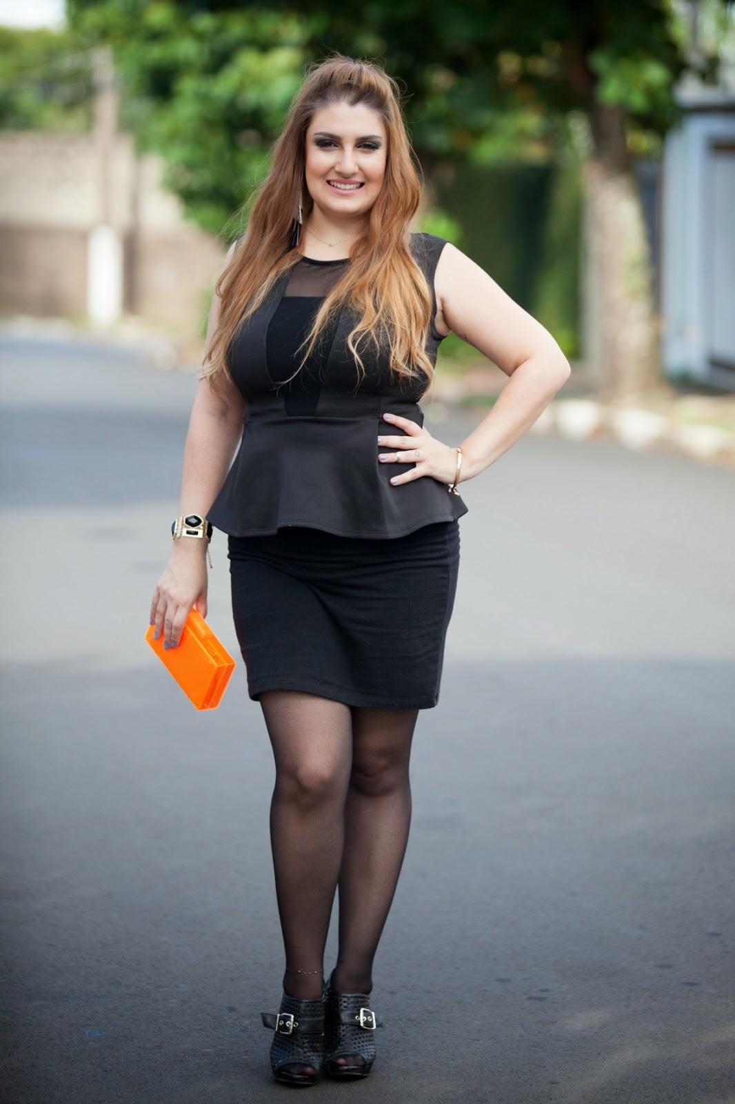 giovana quaglio, look, look do dia, clutch, laranja, forever 21