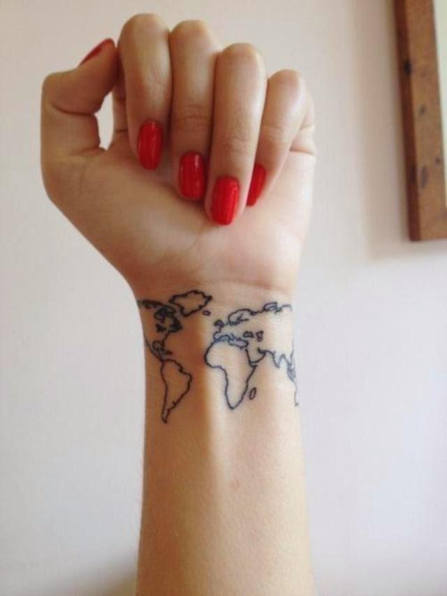 mapa, tatuagem, tattoo, chiara ferragni