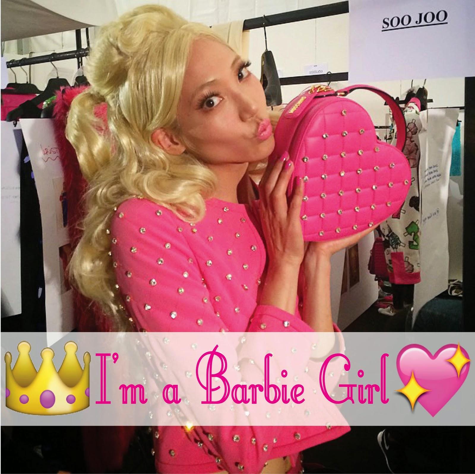 Desfile Barbie da Moschino