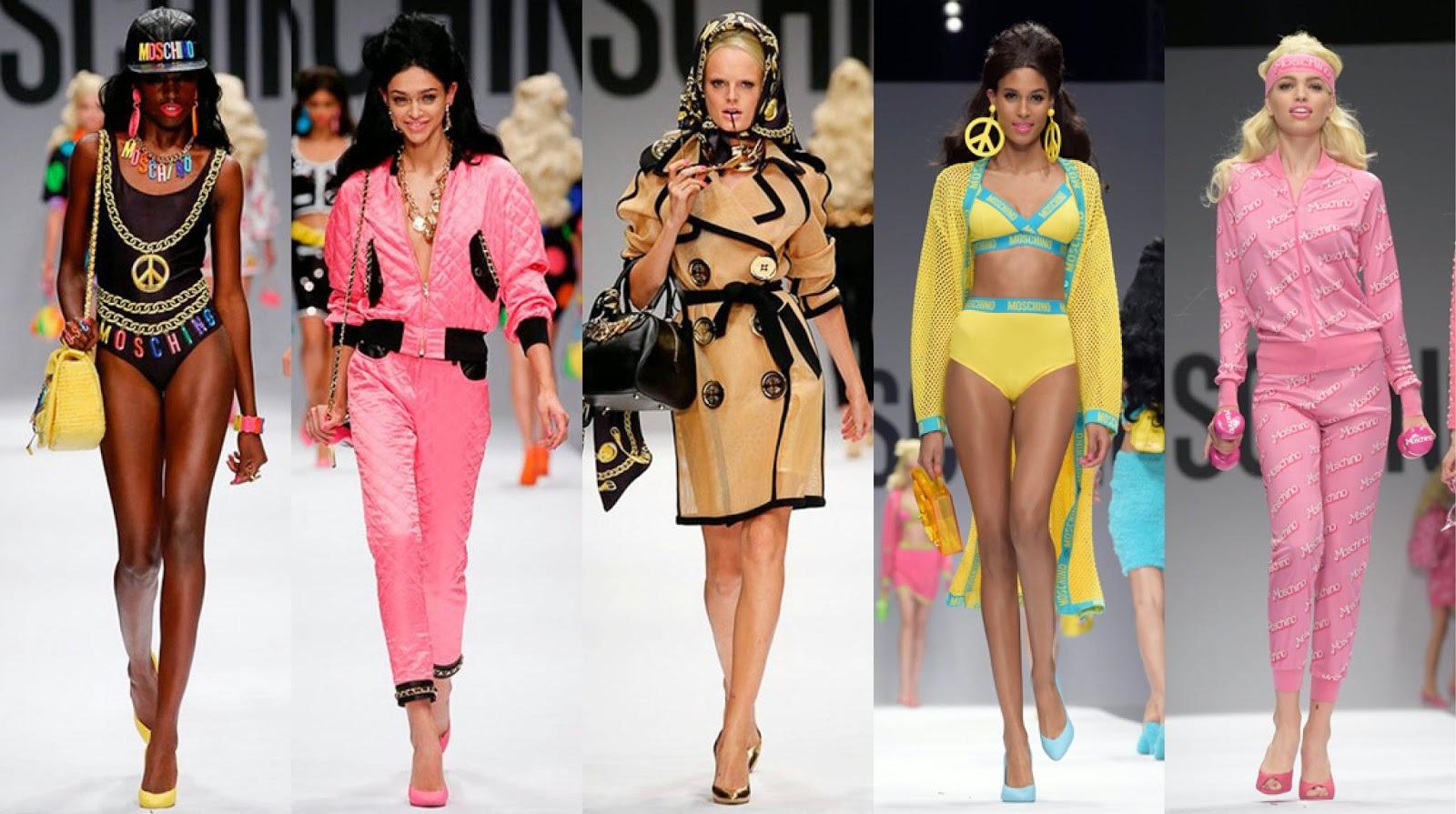 acho tendencia, blog de moda, desfile, moschino, barbie, detalhes, fotos