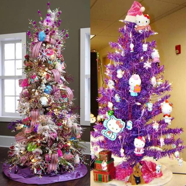 arvore de natal, cor de rosa, fofa, criativa, natal, ideias, doces, pink, acho tendencia
