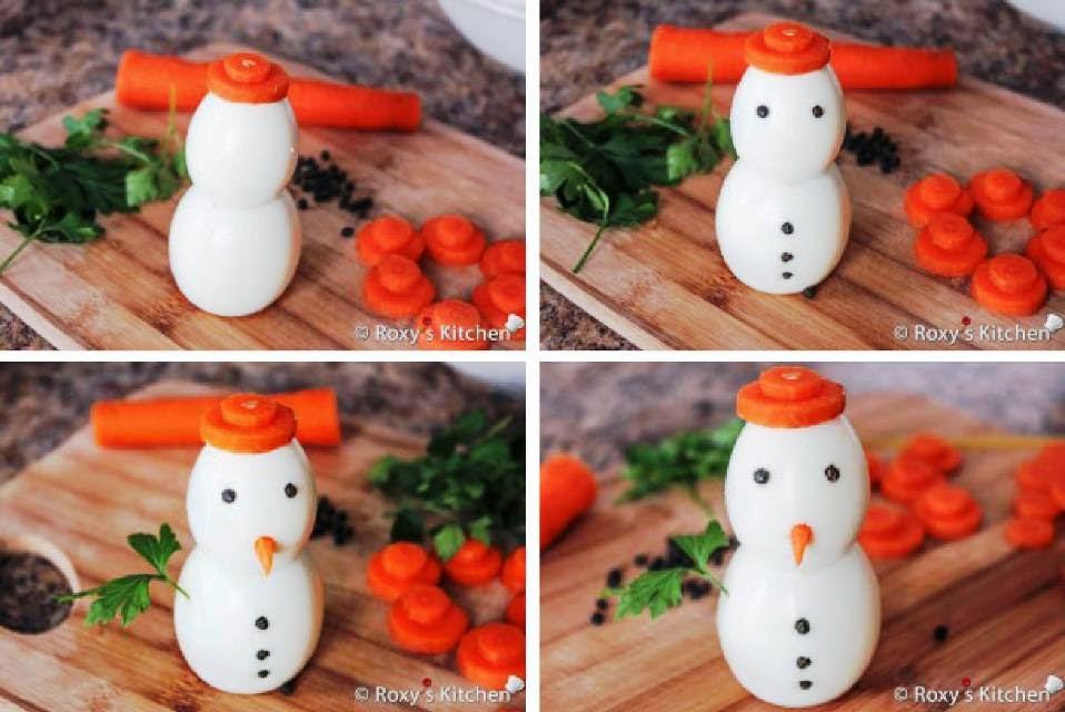 boneco de neve, comestível, como fazer