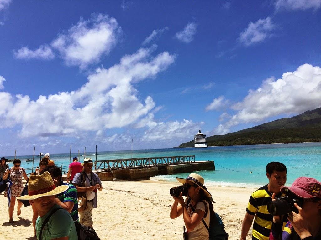 mystery island, vanuatu, pacific islands, cruise ship, navio, cruzeiro, pacifico, paraiso, turismo, viagem, travel, giovana quaglio,