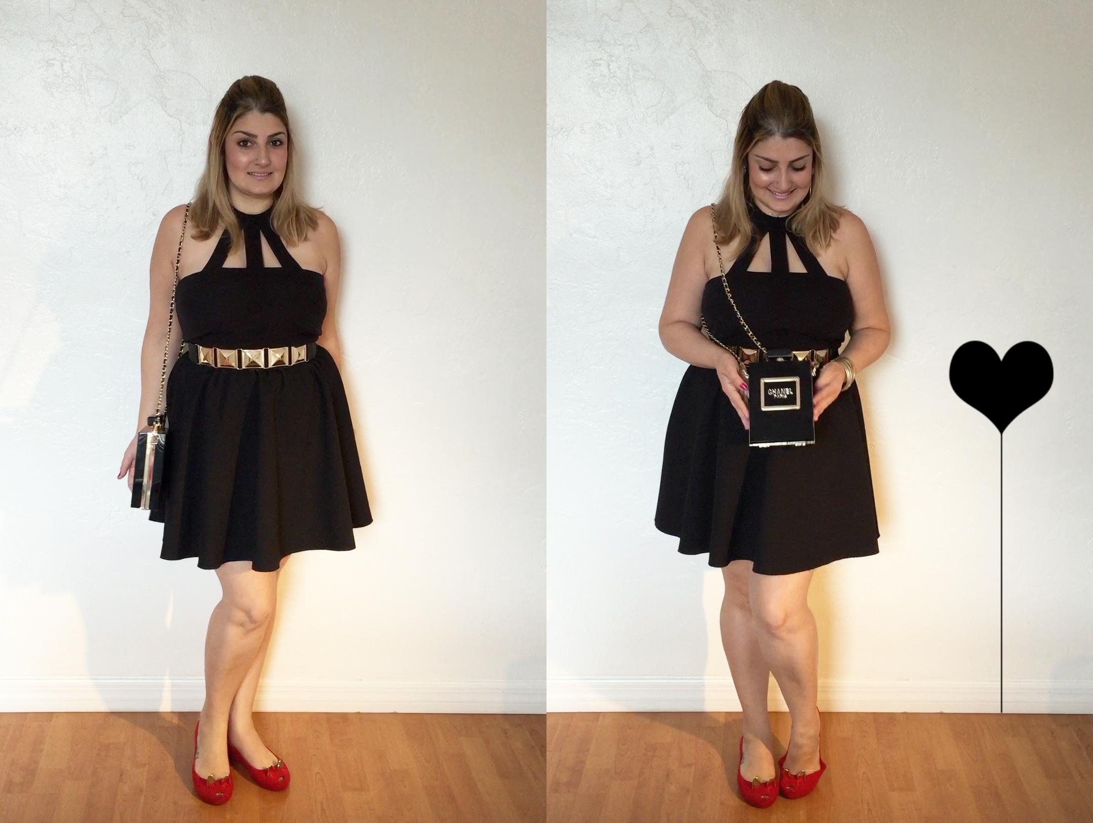 blogueira de moda, giovana quaglio, acho tendencia, look, saia rodada, recortes, bolsa, chanel, perfume. melissa, gatinho