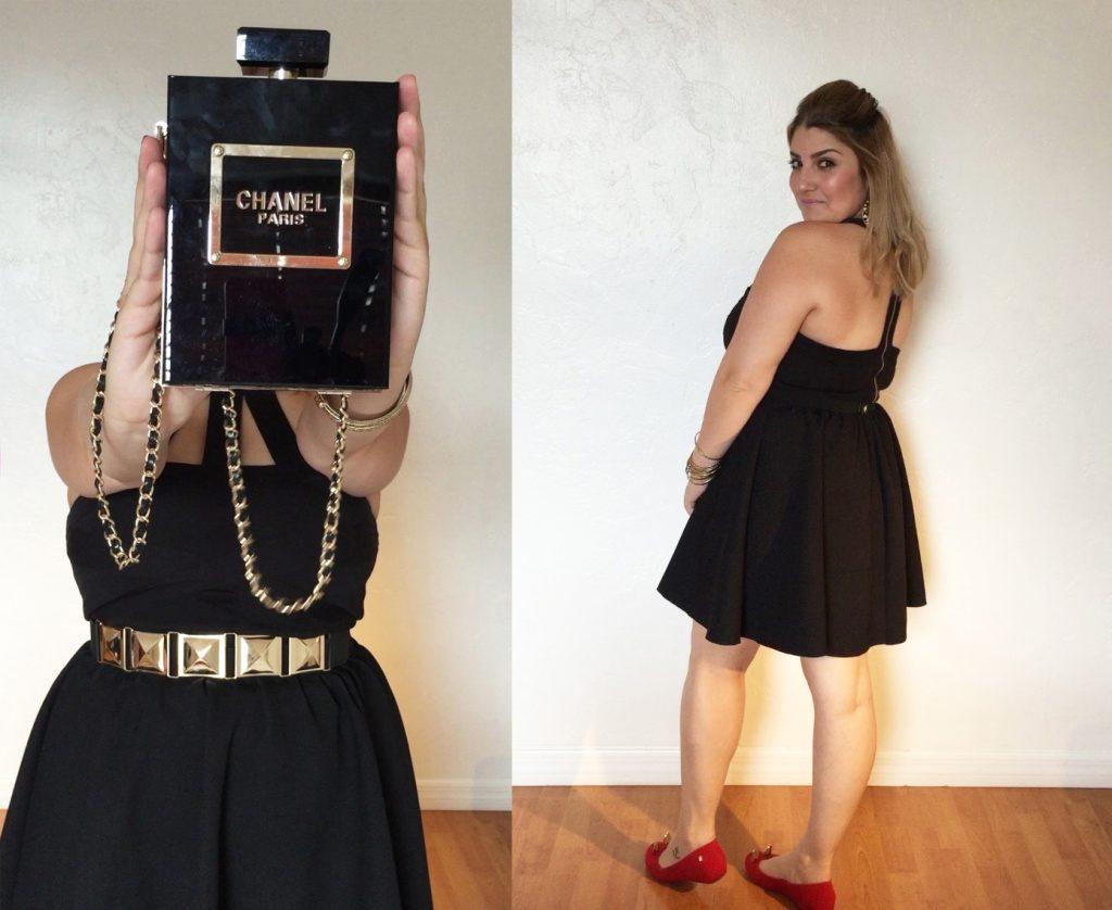 Giovana-Quaglio-Look-Saia-Rodada-Recortes-Bolsa-Chanel-Perfume-Melissa-Gatinho-4