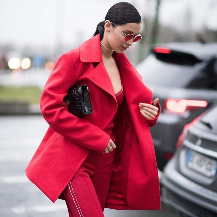 paris, fashion, week, looks, moda, influencers, blogueiras, bella hadid