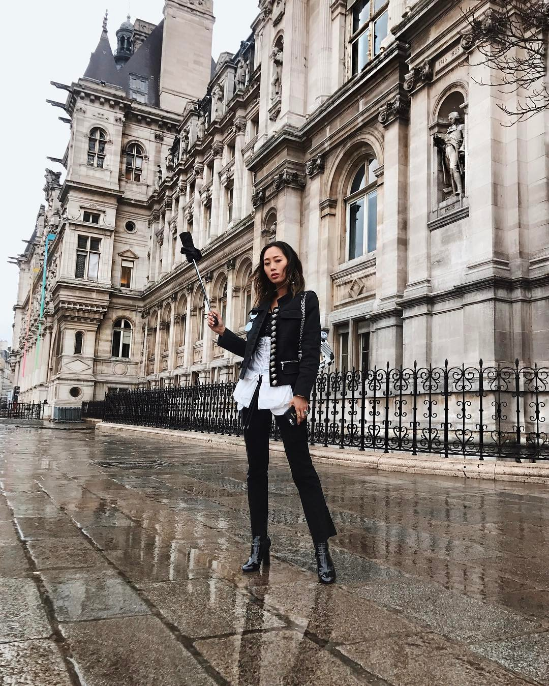 paris, fashion, week, looks, moda, influencers, blogueiras, song of style