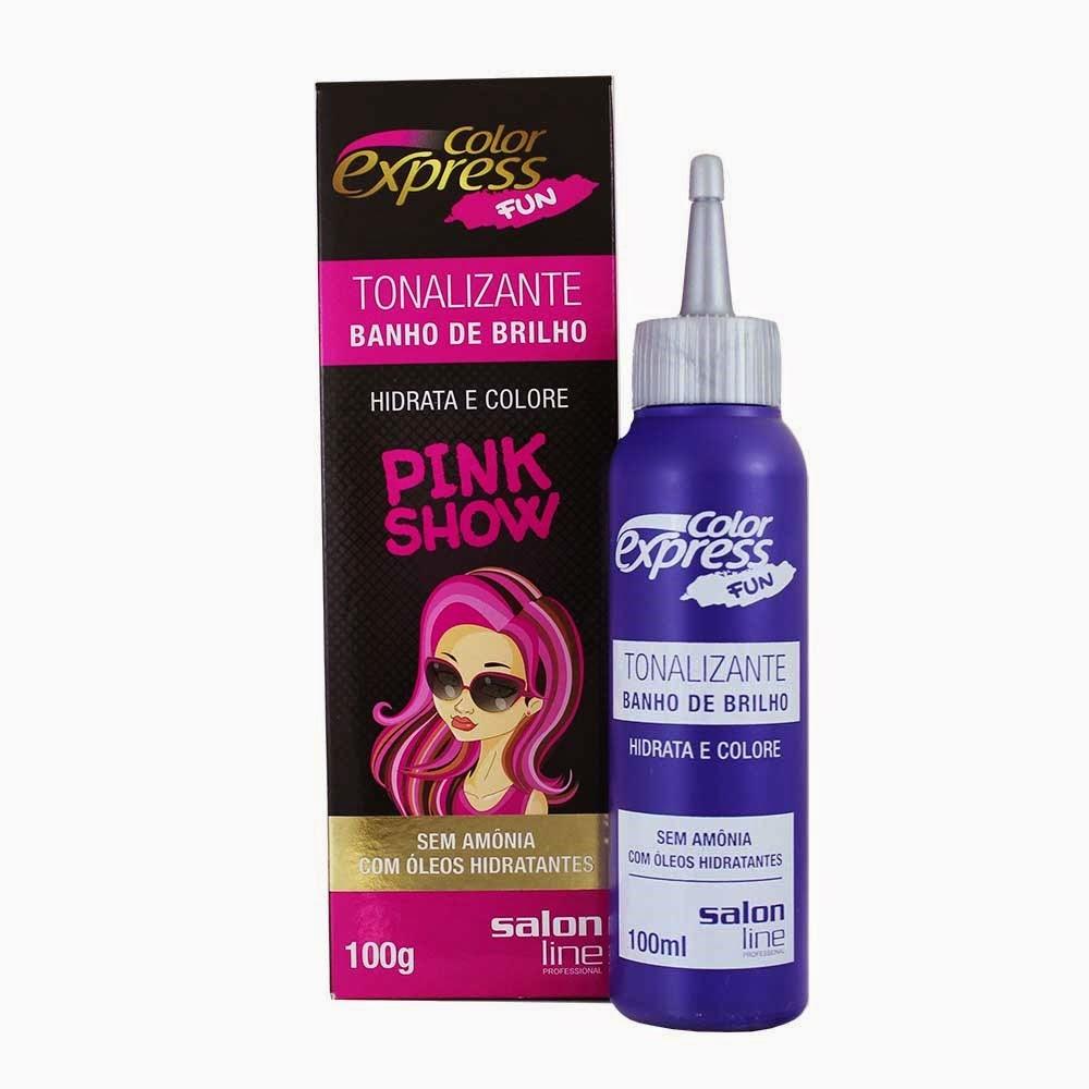 tonalizante, pink, rosa, cabelo, salon line,