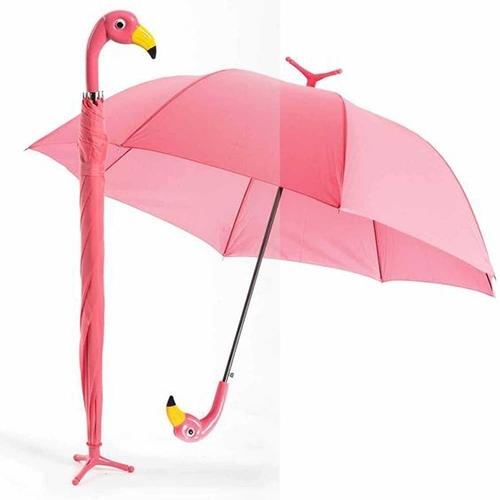 flamingo, acessorios, coisas, decoracao, roupas, sombrinha, guarda chuva