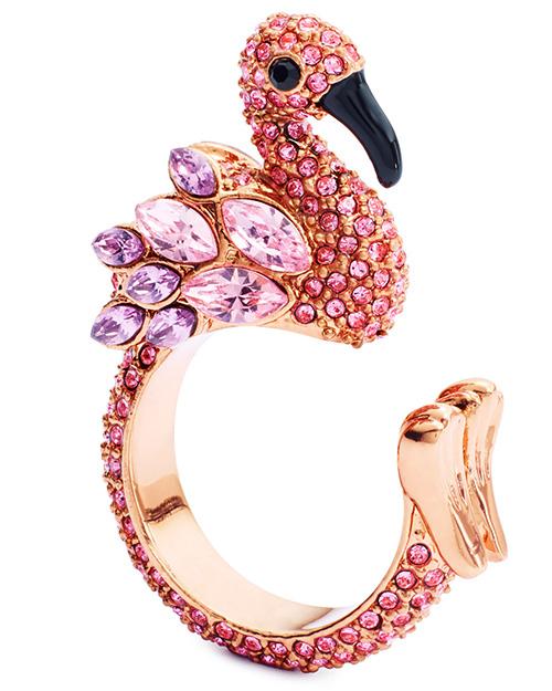 flamingo, acessorios, coisas, decoracao, roupas, anel, joia