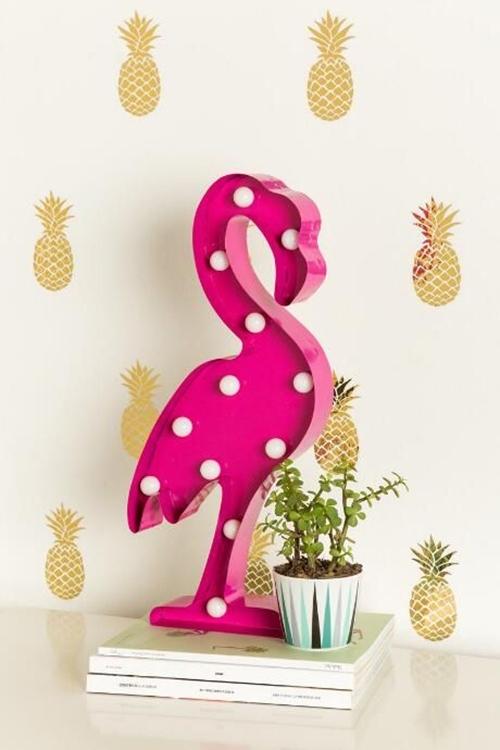 flamingo, acessorios, coisas, decoracao, roupas, luminaria