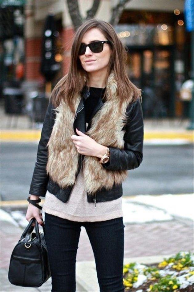 colete de pelos, pelúcia, pele, fake, faux, como usar, dicas de moda, estilo, como combinar