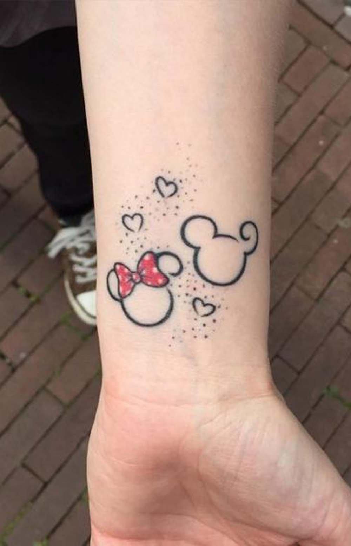 Tatuagens Do Mickey E Da Disney Para Se Inspirar Acho Tendencia