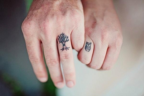 Tatuagem No Dedo Veja Essas 23 Ideias Acho Tendência